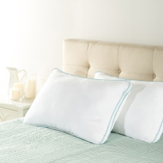 Priage Memory Foam Classic Queen Pillow (Set of 2)