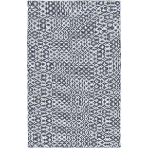 Couristan Cottages Manhasset/Navy Indoor/Outdoor Area Rug - 8' x 10'