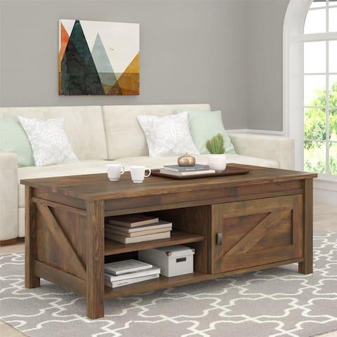 Ameriwood Home Farmington Century Barn Pine Coffee Table