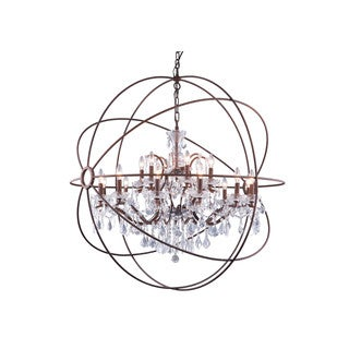 Somette Durham Collection Rustic Intent Gyro Pendant Lamp