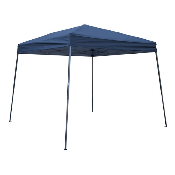 Trademark Innovations Square Replacement Canopy Gazebo Top for 10-foot Slant Leg Canopy (8' x 8')