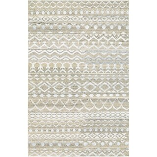 Couristan Casbah Purnia/Natural-Cream Wool Area Rug - 5'6 x 8'