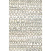 Algiers Patna Natural-Cream Area Rug - 5'6 x 8'