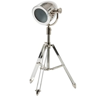 Urban Designs Nickel Tripod Table Lamp