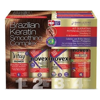 Novex Brazilian Keratin 4-piece Kit