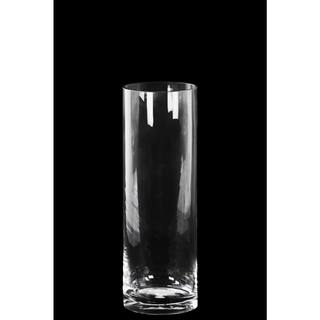 Glass Tall Cylinder Vase with Round Mouth and Tapered Bottom Small Clear Glass Finish Achromatic|https://ak1.ostkcdn.com/images/products/11607939/P18545576.jpg?impolicy=medium