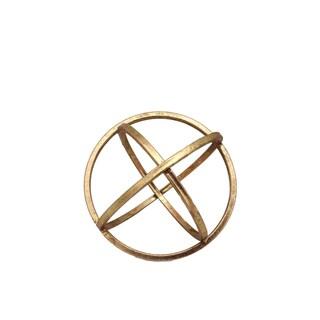 Antique Gold Metal Dyson Sphere
