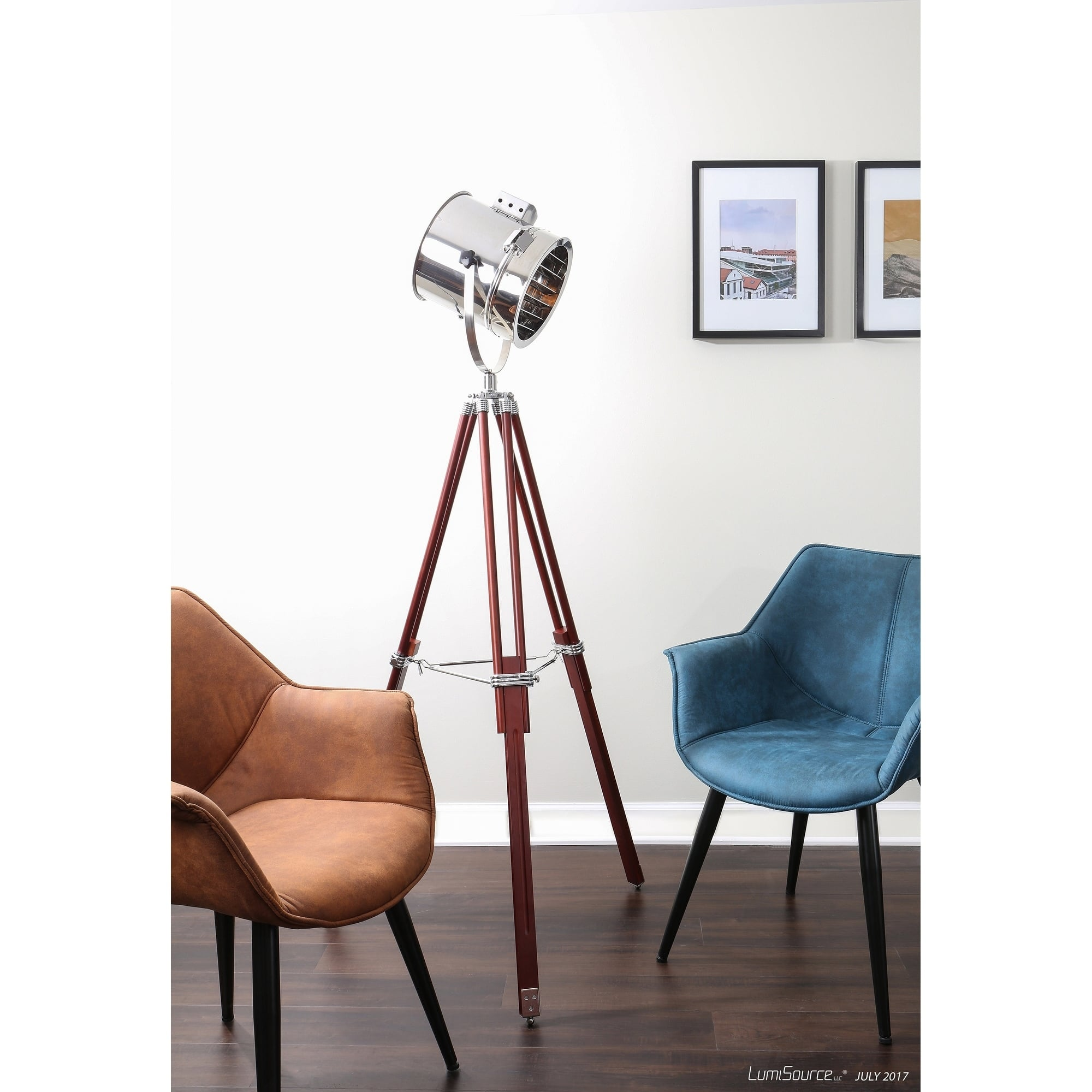LumiSource Ahoy Spotlight Adjustable Floor Lamp