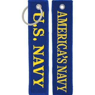 US Navy America's Navy Keychain/ Luggage Tag