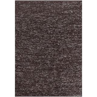 "ABC Accent Dilana Brown Wool Rug (5""x8"")"