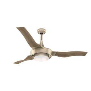 Casablanca Fan Perseus 64-inch 3-blade Metallic Sunsand with Oak Blades