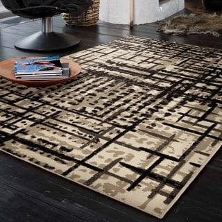 "Carolina Weavers Urbane Collection Vienna Multi Area Rug (7'10 x 10'10) - 7'10"" x 10'10"""