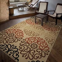 Laurel Creek Matthew Multicolored Area Rug - 7'8 x 10'10