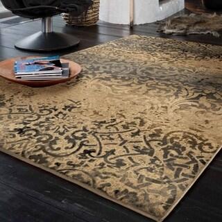Carolina Weavers Refined Culture Collection Meredia Beige Area Rug (7'10 x 10'10)