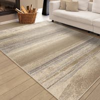 "Carolina Weavers Urbane Collection Whistler Ivory Area Rug (7'10 x 10'10) - 7'10"" x 10'10"""