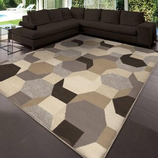 "Carolina Weavers Urbane Collection Osos Multi Area Rug (7'10 x 10'10) - 7'10"" x 10'10"""