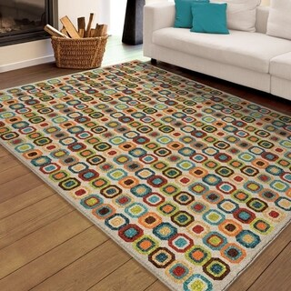 Palm Canyon Salvia Multi Area Rug - 5'2 x 7'6