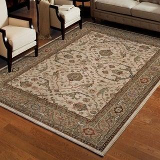 Carolina Weavers Brilliance Collection Kazan Beige Area Rug (5'3 x 7'6)