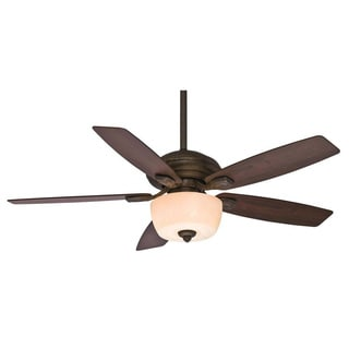 Casablanca Fan Utopian 52-inch Aged Bronze (Damp Listed) with 5 Dark Walnut Blades