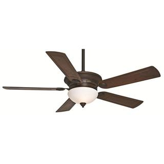 Casablanca Fan Whitman 54-inch Brushed Cocoa with 5 Dark Walnut ABS