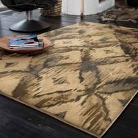 Carolina Weavers Refined Culture Collection Elmas Being Area Rug (5'3 x 7'6)