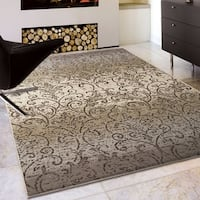 Silver Orchid Reinwald Gray Area Rug - 5'3 x 7'6