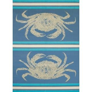 "Panama Jack Island Breeze Stone Crab Accent Rug (1'10"" x 3')"