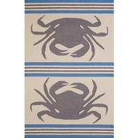"Panama Jack Signature Crab Shack Indoor/Outdoor Area Rug (7'10"" x 9'10"") - 7'10 x 9'10"