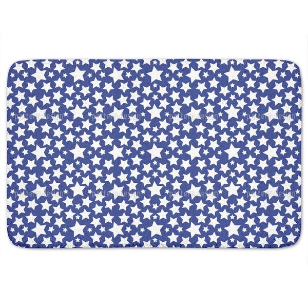 Gazillion Of Stars Bath Mat