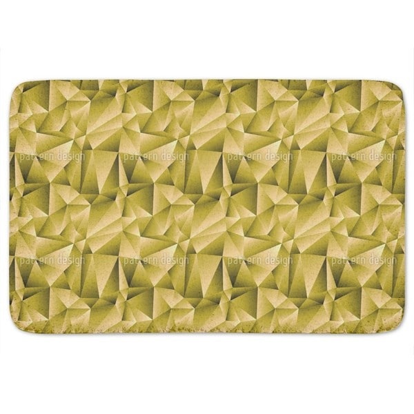 Golden Glamour Bath Mat