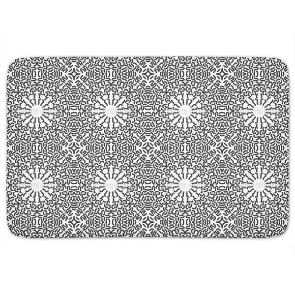 Gothic Meets Pop Art Bath Mat