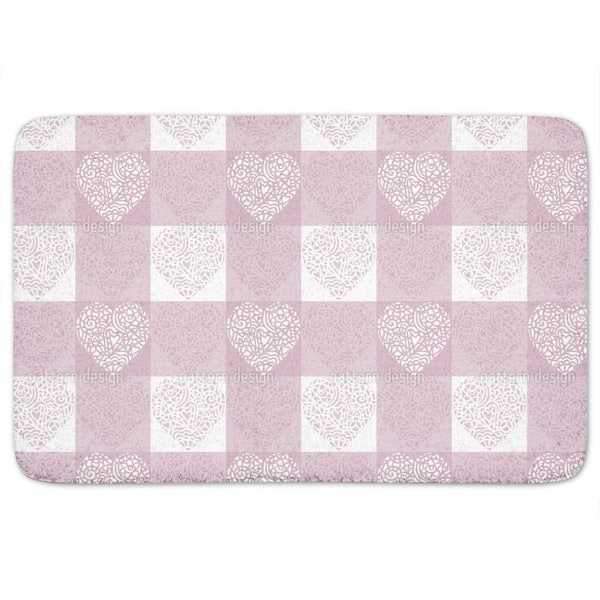 Hearty Lilac Bath Mat