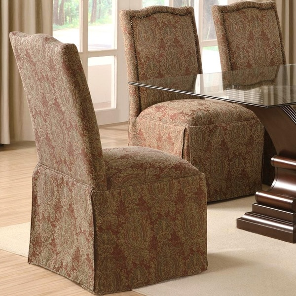 Shop Cambridge Upholstered Classic Skirted Chair With Nail