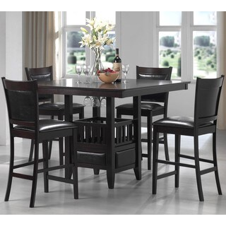 Sandos Mid Century Casual 5-piece Counter Height Dining Set