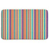 Happy Stripes Bath Mat
