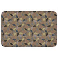 Harmony Of Leaves Bath Mat