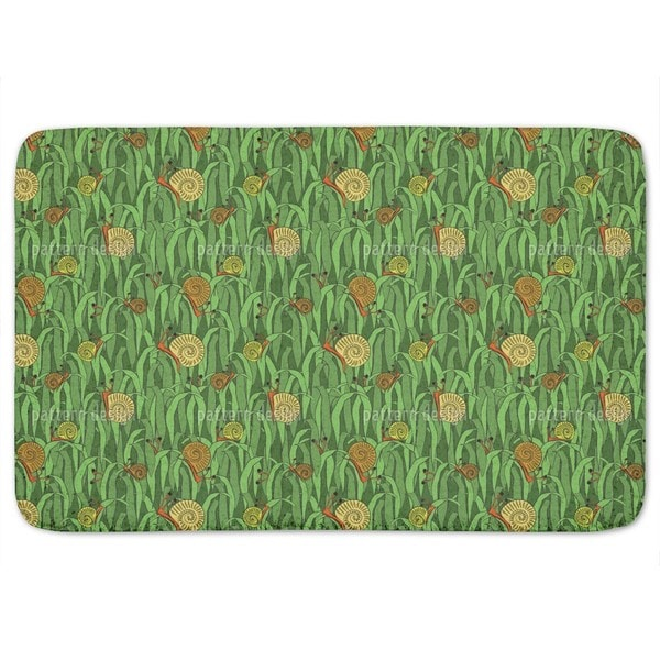 Hats Off Little Snails Bath Mat