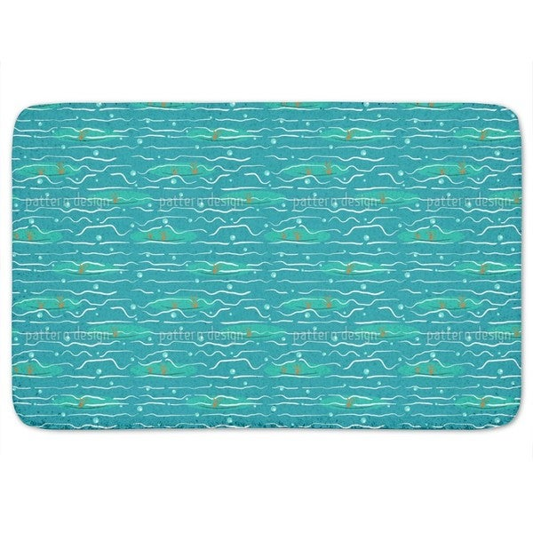 Haven Of Coral Reefs Bath Mat