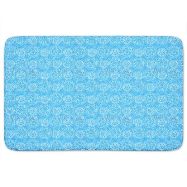 Heavenly Blue Bath Mat