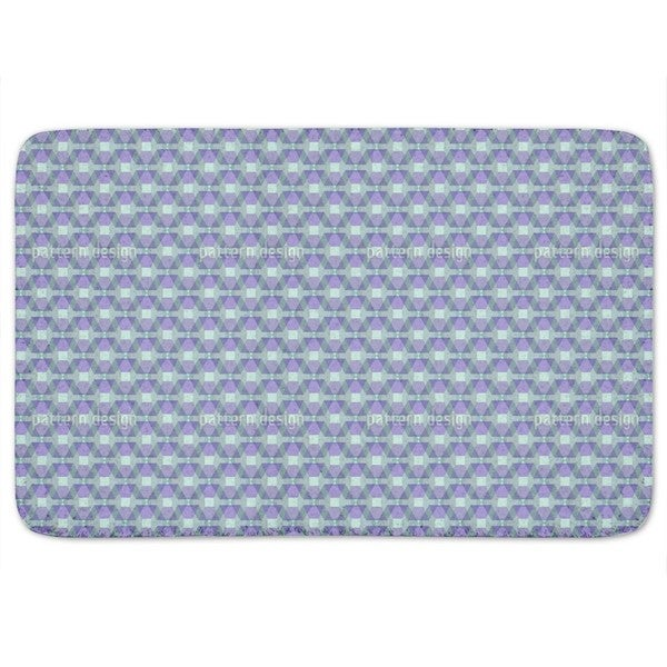 Hexagonia On The Trapeze Bath Mat