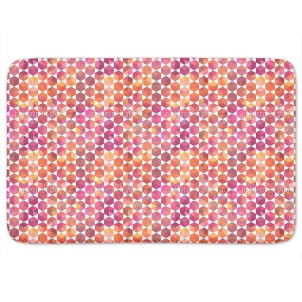 Hip Hexagon Bath Mat