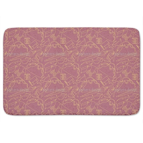 Holiday Fever Bath Mat