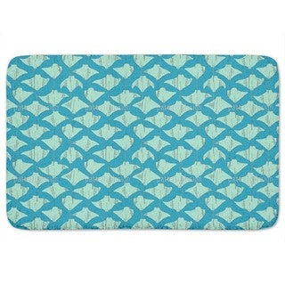 Stingrays In The Ocean Bath Mat