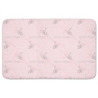 Flower Dreams In Rose Bath Mat