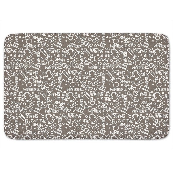 Wintergames Decoration Bath Mat