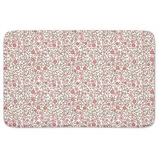 Wild Roses In The Garden Bath Mat
