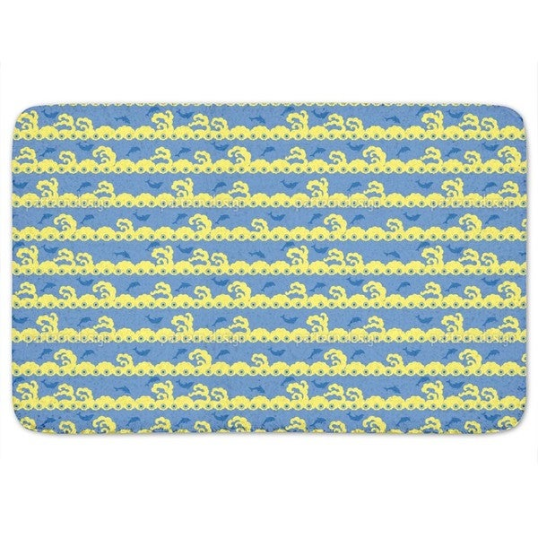Wavy Games Bath Mat