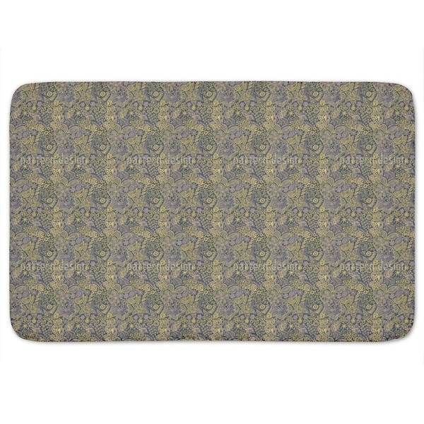Twilight In The Garden Of Eden Bath Mat