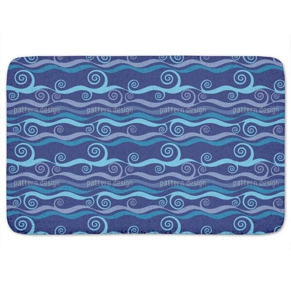 Triton Blue Bath Mat