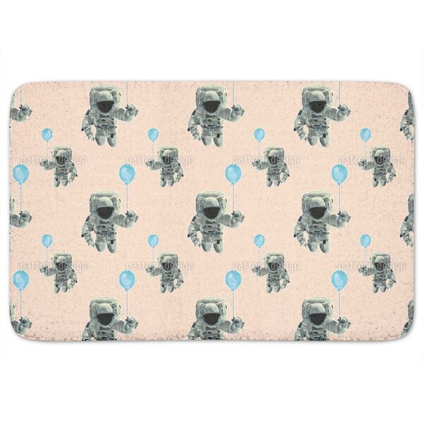 The Party Odyssey Of The Astronauts Bath Mat
